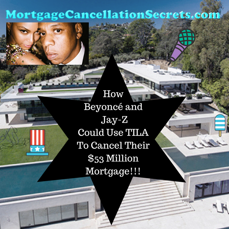 How Beyoncé and Jay-Z Could Use TILA To Cancel Their $53 Million Mortgage