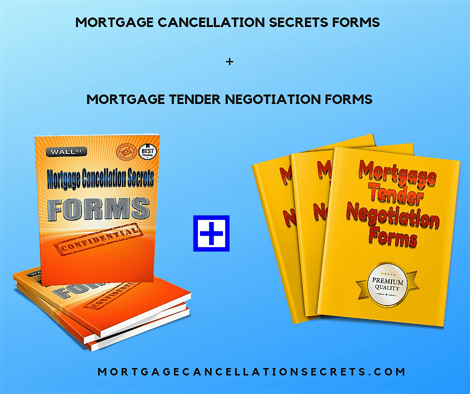 Mortgage Cancellation Tender Forms