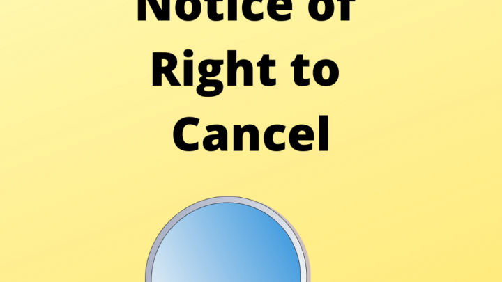 New Jersey Foreclosure Defenses Notice of Right to Cancel mortgagecancellationsecrets.com